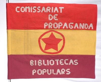 Comissariat de propaganda. Biblioteques populars