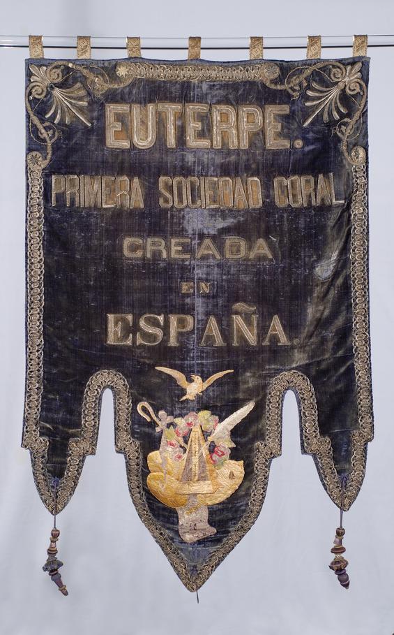 Estendard. Euterpe. Primera Sociedad Coral de España