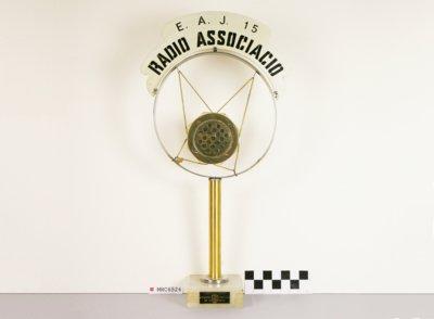 Micròfon de Ràdio Associació de Catalunya EAJ-15