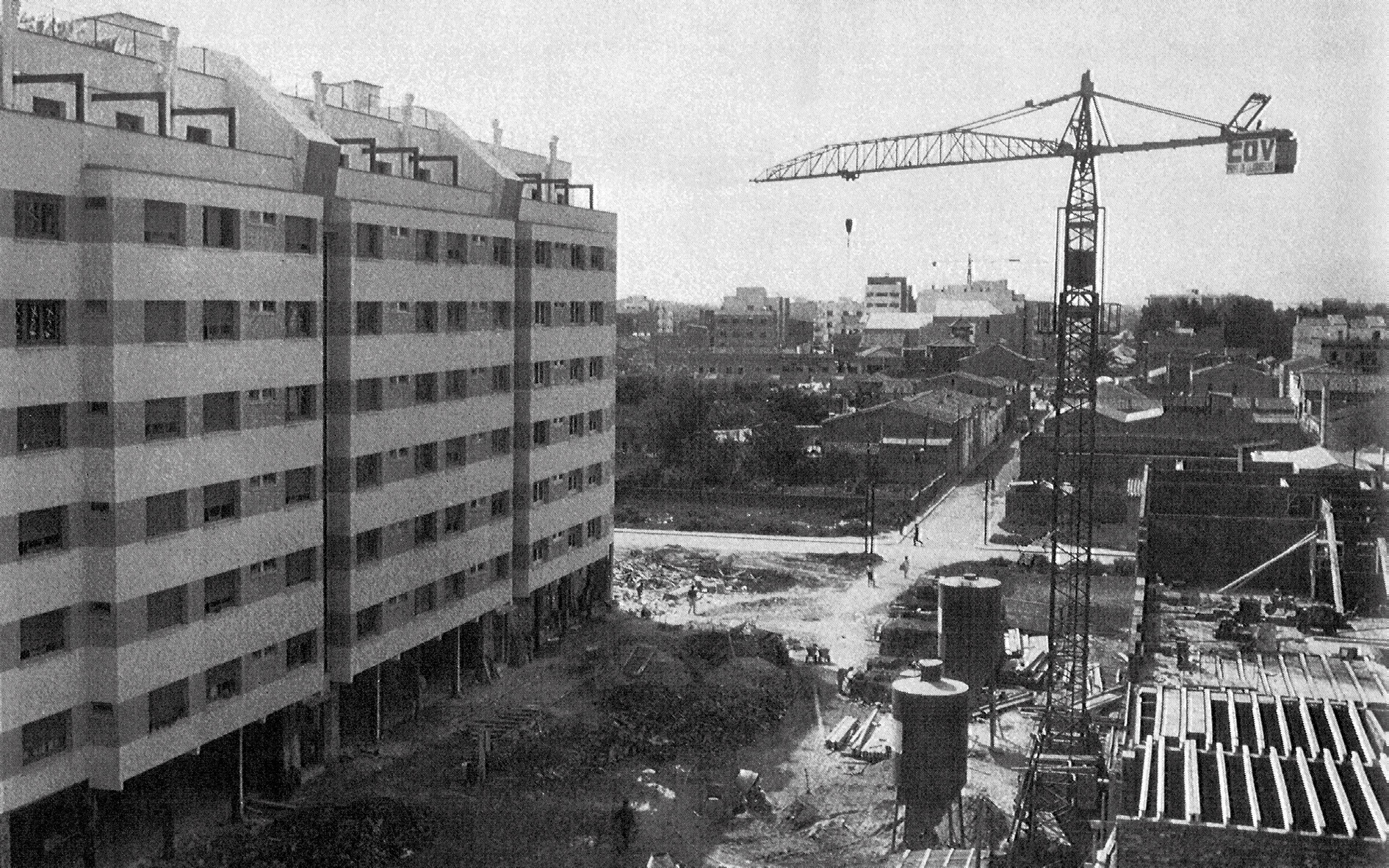 Blocs de la Cooperativa Obrera de Viviendas al Prat del Llobregat