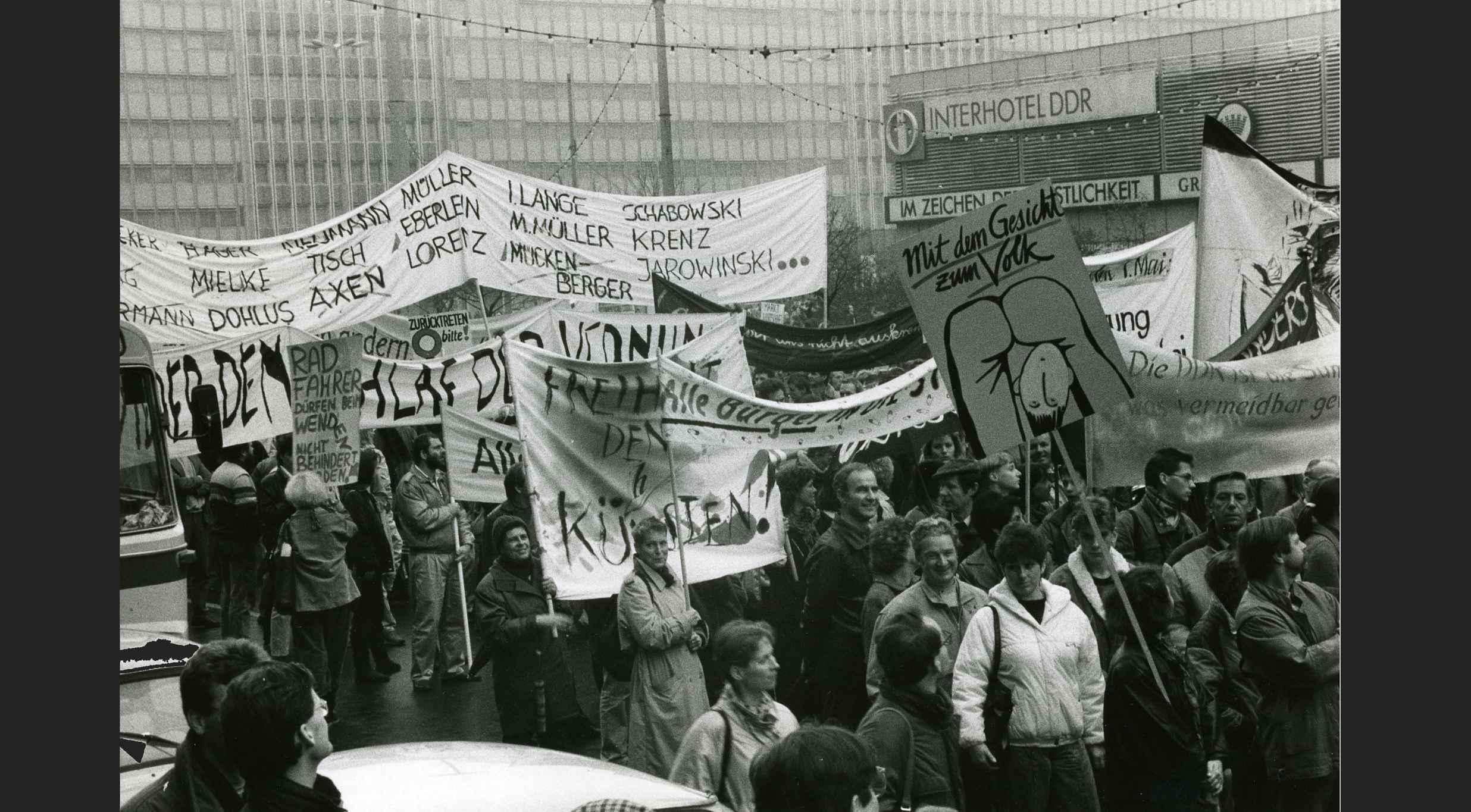 Manifestació d'Alexanderplatz