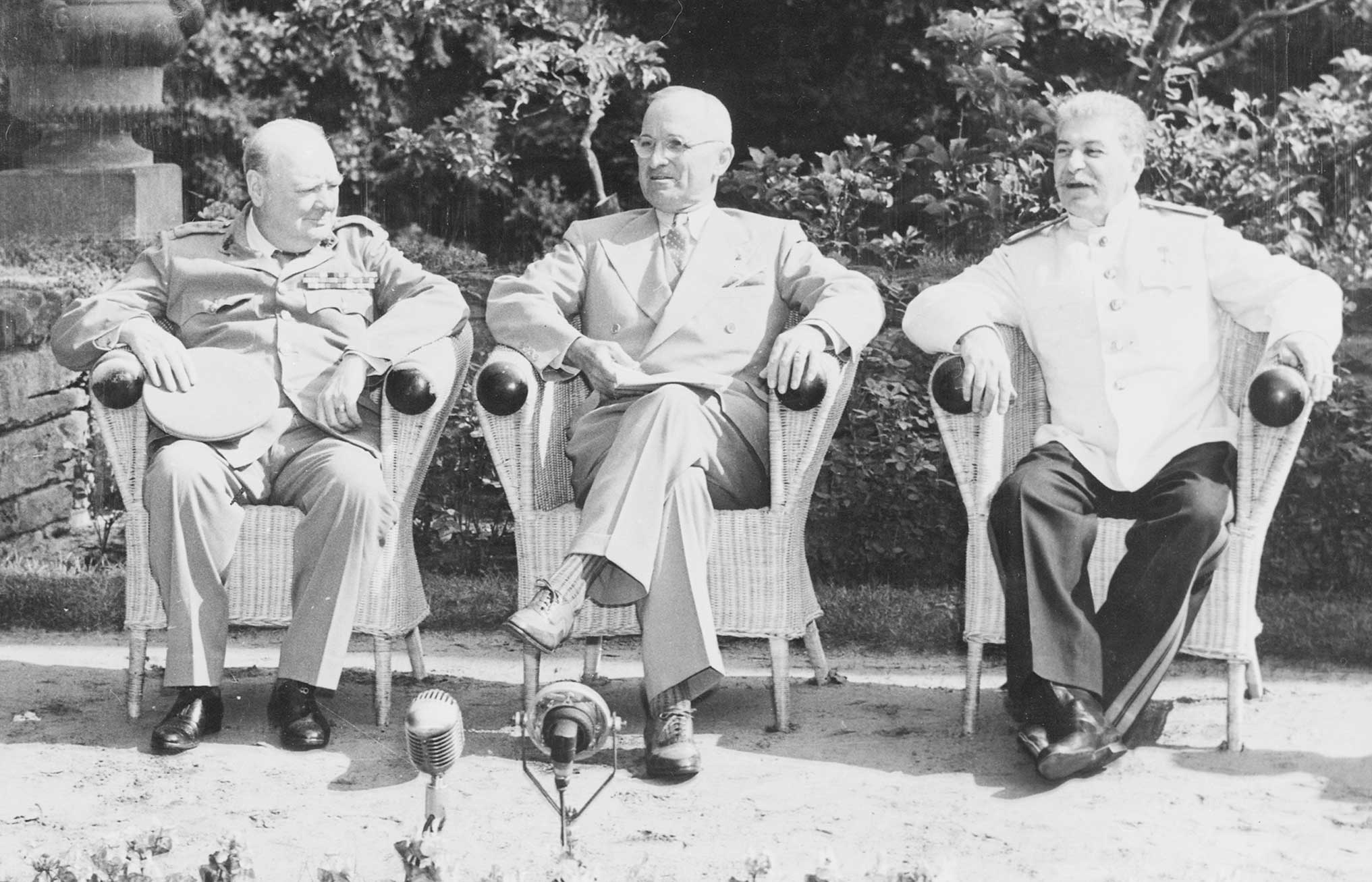 «The Big Three» de la Conferència de Potsdam